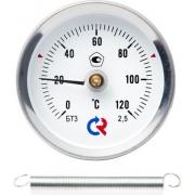Термометр биметаллический БТ-30.010 (общетехнический с пружиной)