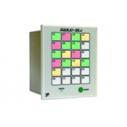 БАЗИС-35.С-24 — исполнение с 24 трехцветными программируемыми светодиодными элементами
