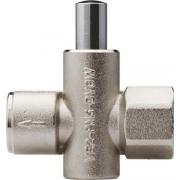 Кнопочный клапан VE-2 из латуни
